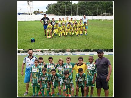 Jogo de futebol entre as escolinhas de Nova Luzitânia e Floreal