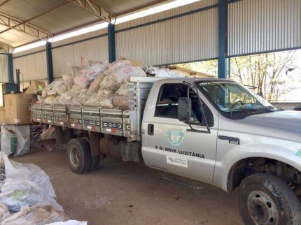 Município Verde recolhe lixo eletrônico em Nova Luzitânia