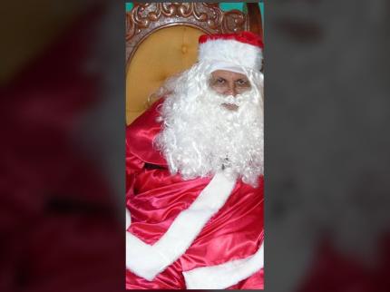 Entrevista com Ademir Bonfim, Papai Noel de Nova Luzitânia