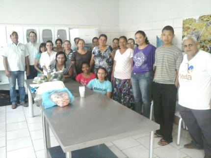 Nova Luzitânia oferece curso de Fabricação de Produtos de Limpeza à munícipes