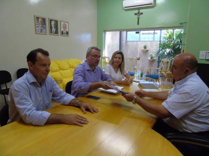 Superintendente do Detran apresenta parcerias para o município