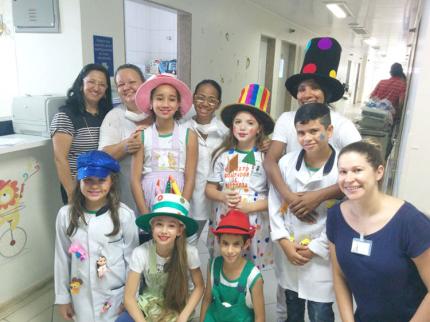 Projeto contador de história vai a Santa Casa de Araçatuba