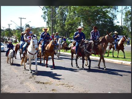 E junho chega a Nova Luzitânia com muitas festividades em comemoração dos 54 anos do município