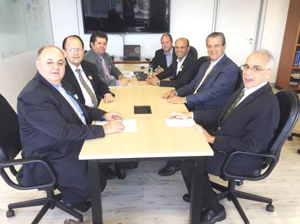 Administração de Nova Luzitânia participa de audiências na capital federal