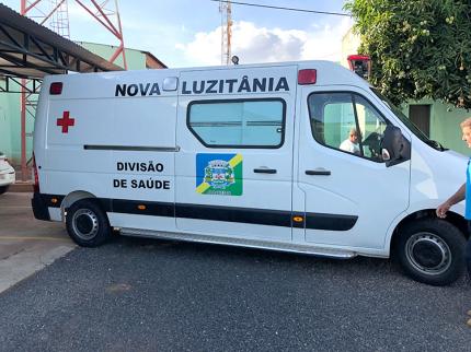 Nova Luzitânia recebe ambulância
