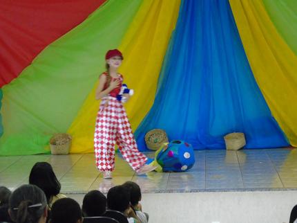 Projeto Contador de Histórias em Nova Luzitânia