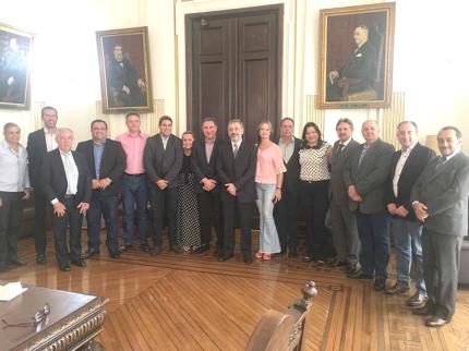Prefeitos da FRIM cumprem agenda em São Paulo