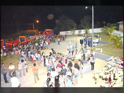Inauguração da Praça do TV