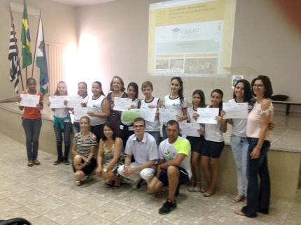 Projeto OBMEP na Escola em Nova Luzitânia