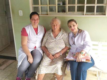 ESF faz visitas domiciliares em Nova Luzitânia