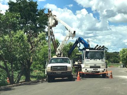 Nova Luzitânia substitui postes de madeira