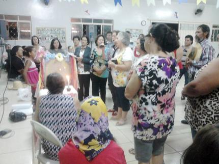 Grupo da Terceira Idade e Grupo Vida realizaram terço junino em Nova Luzitânia