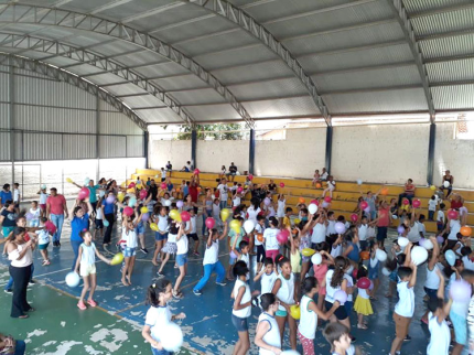 Escola Municipal realiza Dia da Família na Escola