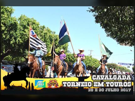 Cavalgada e Torneio em Touros de Nova Luzitânia agitou a região no fim de semana