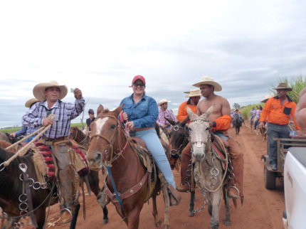 Cavalgada de Nova Luzitânia bate recorde de público