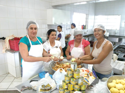 Nova Luzitânia se empenha à solidariedade