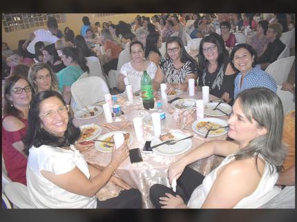 2º Jantar de Dia das Mães em Nova Luzitânia foi extraordinário