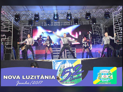 Nova Luzitânia fecha festividades dos 52 anos com muita alegria