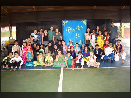 Contação de Histórias na Escola José Augusto Gama de Souza
