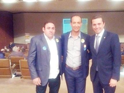 Vereador Dito Sá acompanha prefeito na luta por recursos para cidade