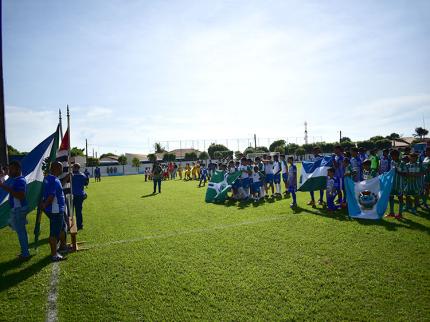 Nova Luzitânia sediou abertura do 14º Campeonato Lidesfrim de Futebol Infantil