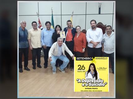 Câmara de Nhandeara apoia o Setembro Amarelo
