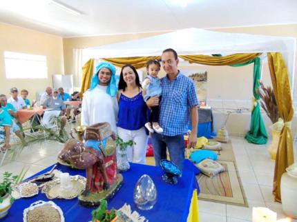 CRAS de Nova Luzitânia promove almoço árabe para o Grupo Vida