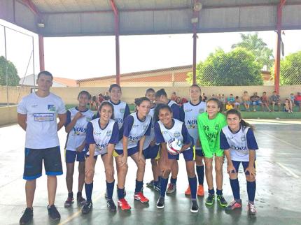 Futebol feminino é destaque no município