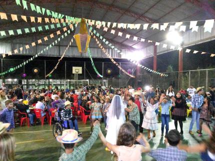 Festa junina da EE de Nova Luzitânia