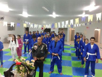 CRAS traz jiu-jitsu para Nova Luzitânia