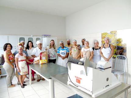 Curso de Panificação Industrializada em Nova Luzitânia