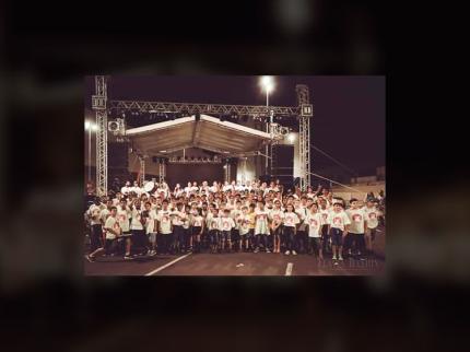 Projeto Guri de Nova Luzitânia participa de eventos em Araçatuba