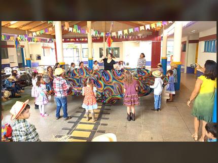 Festa Junina no CEI de Nova Luzitânia