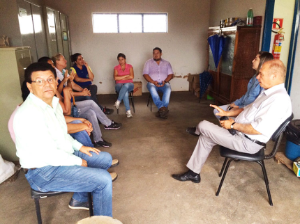 Reunião sobre Município Verde/Azul