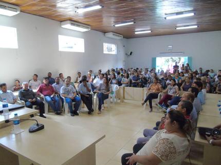 100 dias de mandato, Prefeito Laerte Rocha de Nova Luzitânia presta contas a comunidade