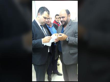 Vereador Wagner entrega ofício sobre vicinal para deputado Bruno Covas