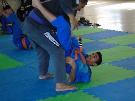 Graduação de Jiu-jitsu em Nova Luzitânia