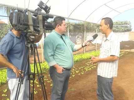 Programa Jovem Agricultor do Futuro, atrai televisão em Nova Luzitânia