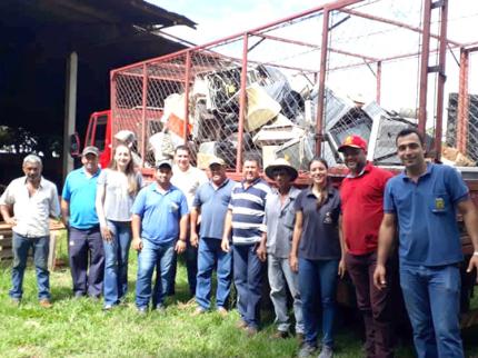 Mutirão do Lixo eletrônico arrecada mais de 3 mil quilos