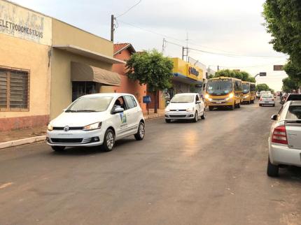 Nova Luzitânia recebe 4 novos veículos
