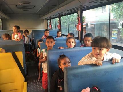 Nova Luzitânia inova com Transporte Urbano para creche municipal