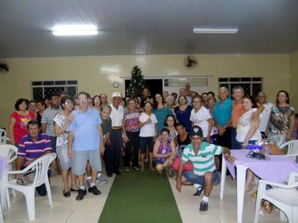 Grupo da Terceira Idade realiza confraternização de fim de ano