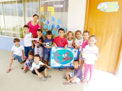 Centro de Educação Infantil desenvolve atividades do Dia da Água