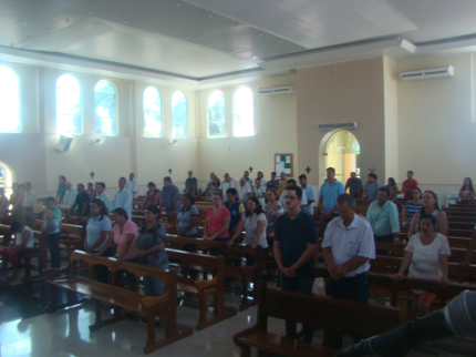 Missa para abençoar o ano de trabalho de servidores municipais é realizada em Nova Luzitânia