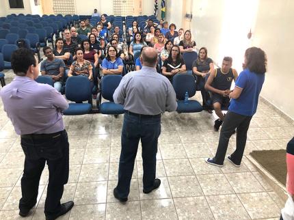 Semana de volta as aulas foi de capacitação e planejamento com profissionais da educação em Nova Luzitânia
