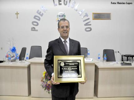 Dilador é contemplado com título de cidadão de Nova Luzitânia