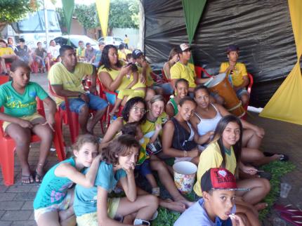 Luzitanienses se reúnem na Tenda da Copa