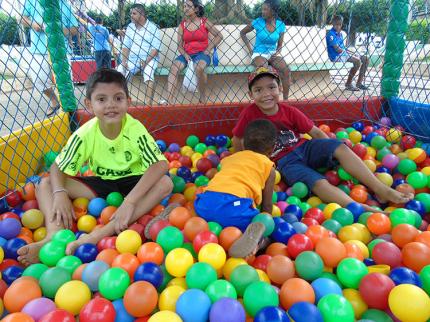 Dia das Crianças em Nova Luzitânia foi promovido pelo CRAS