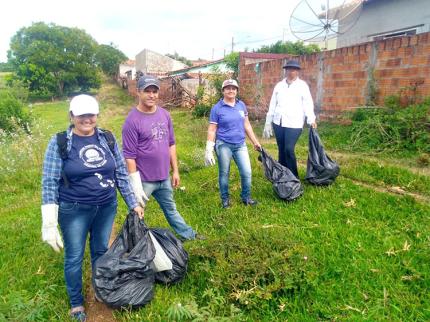 Em Nova Luzitânia a semana foi de Mobilização contra a Dengue