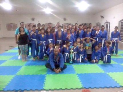 Campeonato de Jiu-jitsu movimentou o fim de semana em Nova Luzitânia